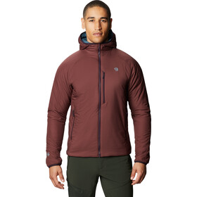 Mountain Hardwear Kor Strata Felpa Uomo, rosso